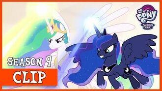 Celestia, Luna, and Star Swirl Help the Mane 6 (The Beginning of the End) MLP FiM HD