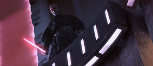 Darth Maul hovers