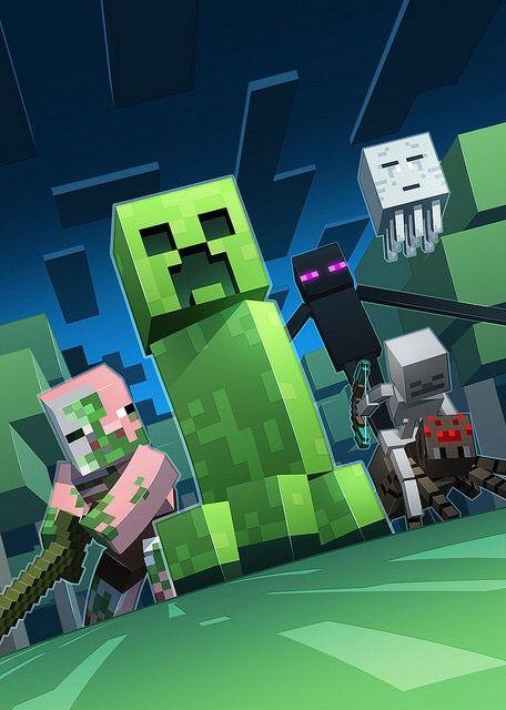 Hostile Mobs (Minecraft) | Villains Wiki | FANDOM powered by