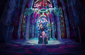 Magase throne