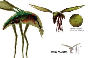 Migou - Species (CthulhuTech, Mortal Remains)
