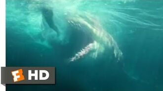 The Meg (2018) - Man vs. Shark Scene (4 10) Movieclips