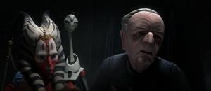 Chancellor Palpatine deranged