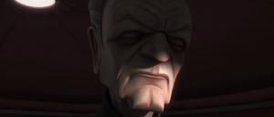 Chancellor Palpatine senses