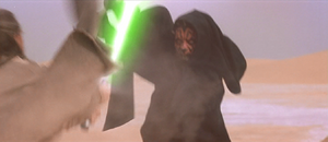 Darth Maul attacks