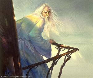 John Howe - Saruman