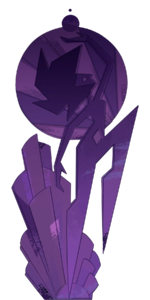 Pink diamond mural transparent-0