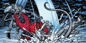 Red Hulk vs Wendigo 07