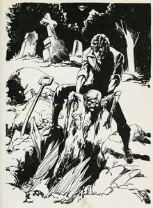 Victor robbing a grave