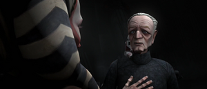 Chancellor Palpatine panache