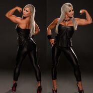 Evil Dana Brooke in Black