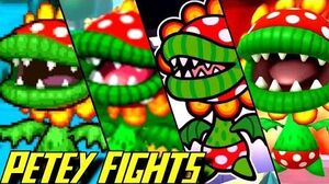 Evolution of Petey Piranha Battles (2002-2016)