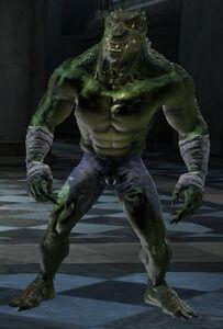 KIller Croc DC Universe Online.