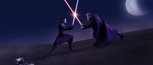 Anakin vs Dooku TCW01