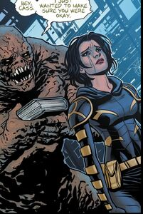 Basil Karlo and Cassandra Cain Prime Earth 0001