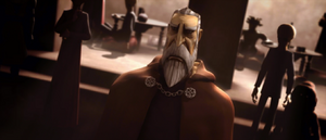 Count Dooku fabricates