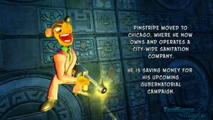 Pinstripe's epilogue in the N. Sane Trilogy