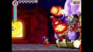 Shantae - Risky's Revenge Final Boss Tinker Tub Magic Lamp's Secret (No Potions No Items)