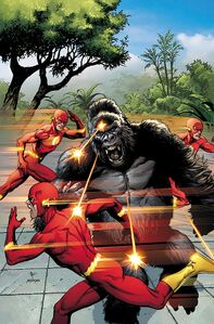 The Flash Vol 1 750 1950s Variant Textless