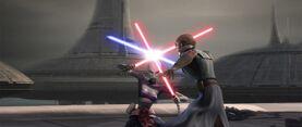 Anakin vs Ventress