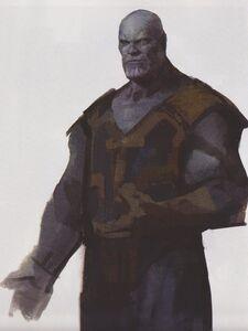 Avengers Infinity War Thanos concept art 18