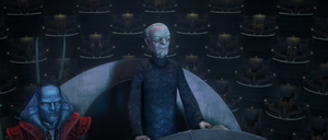 Chancellor Palpatine moderating