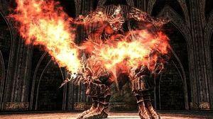 Dark Souls 2 Smelter Demon Boss Fight (4K 60fps)
