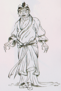Intelligent Jade Empire cannibal concept