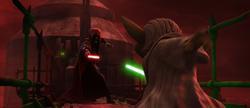 Sidious deuls Yoda