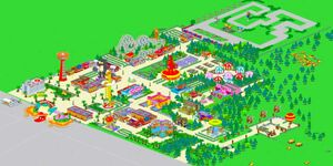 The Krustyland Amusement Park