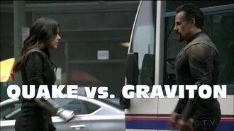 Agents of Shield Season 5 Finale Quake vs. Graviton - Epic Fight