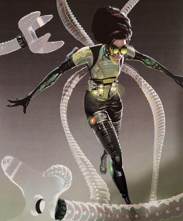 Genex Army Yugioh Fandom Powered By Wikia: Doctor Octopus (Spider-Man: Into The Spider-Verse