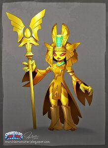 Golden Queen Concept