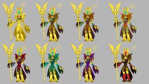 Golden Queen Concepts 6
