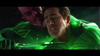 Green Lantern Movie - Sinestro vs Hal Jordan