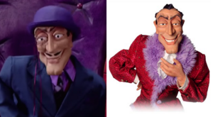 LazyTown - Fordmil Meansbad Robbie Rotten Puppet Comparison
