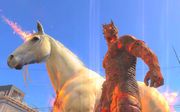 ManOnFireHorse