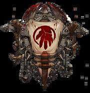 Shattered Hand Crest
