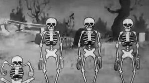 Spooky Scary Skeletons Original Song Video