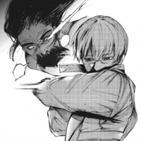 Arima stabs Shachi's eye