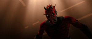 Darth Maul snarls