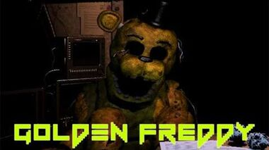 Five Nights at Freddy's 2- GOLDEN FREDDY! (Death Animation and more)