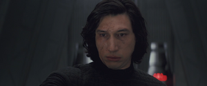 Kylo throne room scene