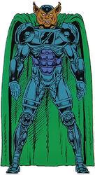 Man beast armor