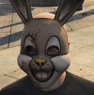 White Rabbit gta v mask