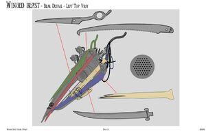 Winged beast beak details by therealzadrpunk13-da203in