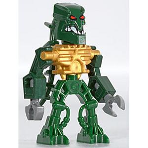 Zaktan as a Lego minifigure