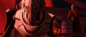 Count Dooku Grievous aware