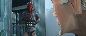 Darth Maul decieves