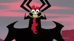 Samurai Jack-s5-ep7-XCVIII- Aku evily trolls jack-Jack loses the sword
